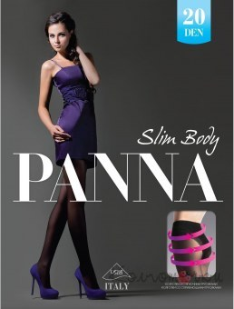 Колготки, Slim Body 20 den, Panna