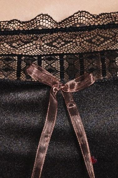 Ночная сорочка, EVANE black Passion (L/XL, черный)
