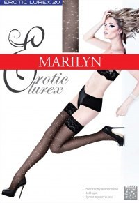 Чулки, Marilyn Erotic lurex 20 den