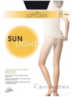 Колготки, Omsa Sun Light 8 den
