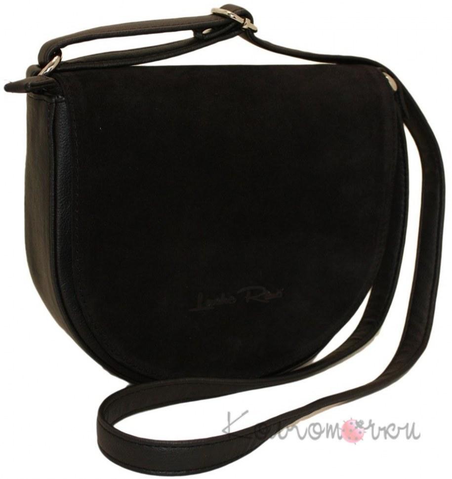 5a3774f810eb Купить Женская сумка замша черная 475 ✅ (100% Лучшей Цене)