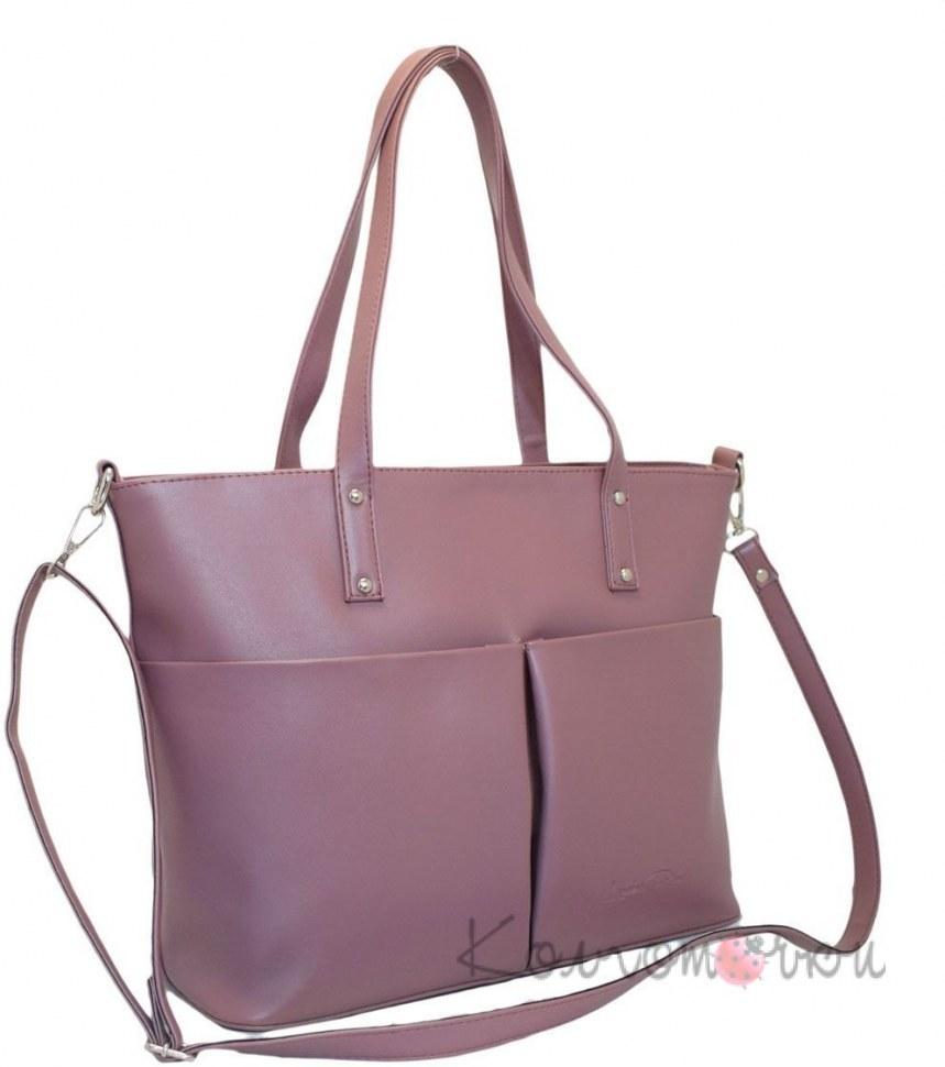 84c30b8c4b65 Купить Женская сумка лиловая 448 по лучшей цене 415 грн. с доставкой ...