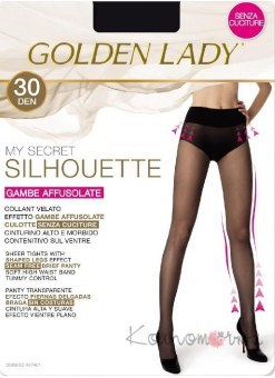 Колготки, GOLDEN LADY My Secret Silhouette 30 den