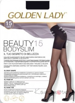 Колготки, GOLDEN LADY Beauty Bodyslim 15