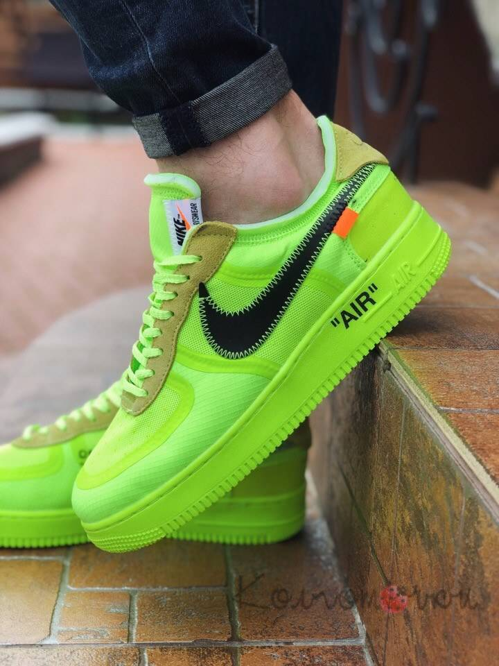 nike air force 1 low off white