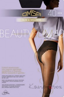 Колготки, Omsa Beauty Slim 40 ,Omsa