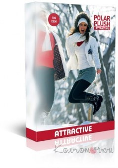 Колготки, Polar Plush Woman Tights, Attractive