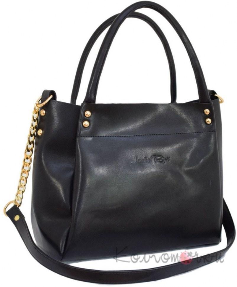 b11e079518c9 Купить Женская сумка экокожа черная 529 ✅ (100% Лучшей Цене)